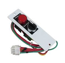 motor rated switch with pilot light kit for motor starter metallic enclosure plug and play hand off