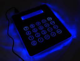 calculator hub mousepad usb hub