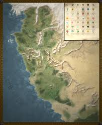 Blank Fantasy World Map by The Witcher World Map By Dwarfchieftain On Deviantart