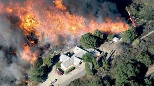 Wildfire Map Los Angeles by Devastating U0027 Cajon Pass Wildfire Blackens More Than 25 000 Acres