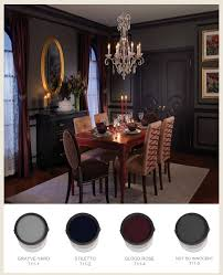 Gothic Dining Room Table by Colorfully Behr Gothic Hauntings