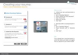 Create A Online Resume by Create An Online Resume With Doyoubuzz