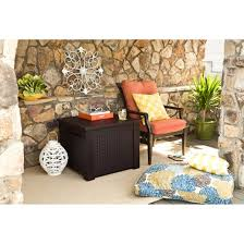Rubbermaid Outdoor Corner Cabinet Bar Rubbermaid Patio Chic Storage Cube Deck Box Target