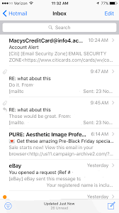 Hotmail Business Email by Anyone Else Missing Hotmail Emails On Iphone Macrumors Forums