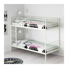 Svarta Bunk Bed White Metal Xcm   AVAILABLE NEXT - Next bunk beds