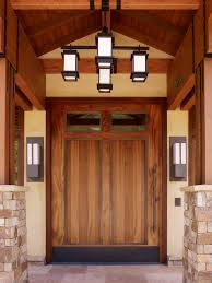 valencia home builders entry craftsman with timber framing front doors