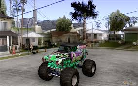 first grave digger monster truck digger for gta san andreas