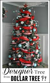 2014 Christmas Tree Ornaments How To Decorate A Christmas Tree A Designer Look From The Dollar