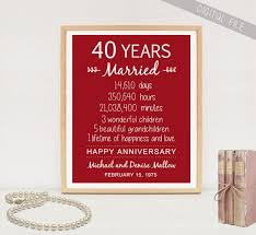 65th anniversary gift 65th wedding anniversary gift for parents 65 years wedding