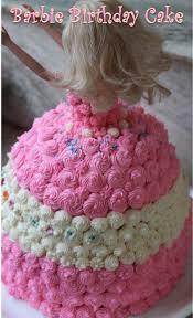 barbie birthday cake recipe barbie doll cake