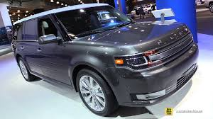 Ford Flex Interior Pictures 2016 Ford Flex Limited Awd Exterior And Interior Walkaround