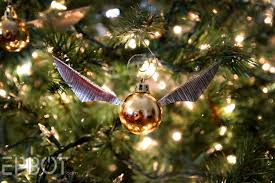 epbot make your own golden snitch ornaments