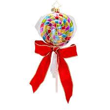 christopher radko ornaments 2014 radko lollipop ornament wrappin
