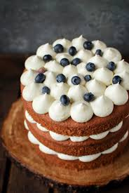 earl grey and blueberry layer cake katiecakes