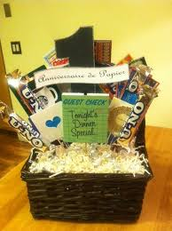 anniversary gift basket wedding anniversary gifts for new wedding ideas trends