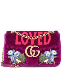 Tod S Soldes Nouvelle Collection Sac Gucci Soldes Gg Marmont Medium Velvet Shoulder Bag Gucci Mytheresa