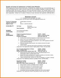 Resume Sample Hobbies by Sample Example Ziptogreen Com Lofty Idea Usa Federal And Format