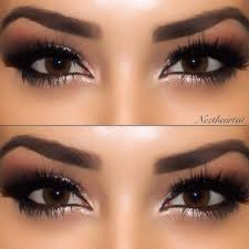 brown eyes no makeup makeup look google search