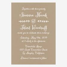 how to word a wedding invitation informal wedding invitation wording kalista weddings