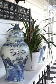 verandah house interior design blue and white decorating
