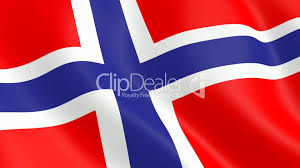Norweigan Flag Norwegian Flag Royalty Free Video And Stock Footage