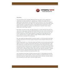 Business Letter Template For Letterhead Letter Heads Business Headed Letter Template Business Letterheads