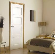 Interior Doors White Modern Interior Doors Between The Wooden And The Glass One