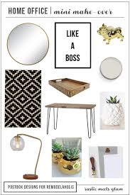 Home Design Mood Board Remodelaholic Create The Perfect Home Office From Mood Board
