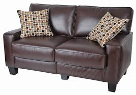 Brown Leather Sofa And Loveseat 19 Poundex Bobkona Sectional Sofa And Ottoman Set Poundex