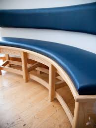 leather bench seat cushions bench decoration