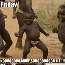 Monday School Meme - school on friday vs school on monday by recyclebin meme center