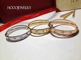 love bracelet pink gold cartier images Cartier love bracelet pave diamonds yellow gold white gold pink jpg