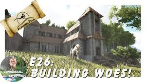 ark survival plus e25 how to build construction sites youtube