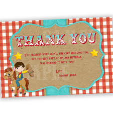 boys jump thank you card neon from partyprintexpress on
