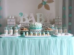 baby showers ideas simple decoration teal baby shower decorations pleasurable design
