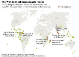 Colombia On A World Map by 6 Of The World U0027s Irreplaceable Places