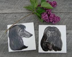 weimaraner vs afghan hound afghan hound art etsy