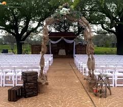 wedding arches for rent houston the beautiful wedding venue at quail valley in houston tx