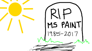 ms paint screensavers get the axe in windows 10 fall creators