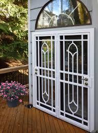 Patio Door Gate Choosing An Iron Patio Door Security Gate Grande Room