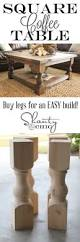 diy square coffee table square coffee tables coffee and squares