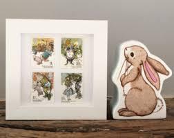 Classic Winnie The Pooh Nursery Decor Winnie Pooh Rabbit Etsy