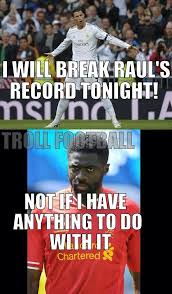 Kolo Toure Memes - kolo toure helps lionel messi by stopping cristiano ronaldo sportige