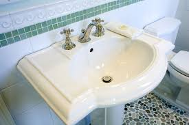 ceramic bathroom sinks pros and cons the pros cons and basics of pedestal sinks