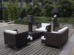 Black Wicker Patio Furniture - furnitures how to make wicker patio furniture durable bench