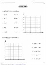 coordinate grids worksheets deboline com