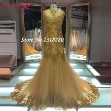 cheap wedding dresses for sale hot sale gold lace cap sleeve mermaid wedding