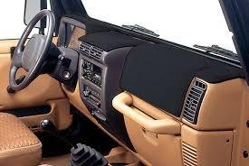 jeep wrangler custom dashboard coverking custom dash cover for 97 06 jeep wrangler tj unlimited