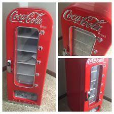 coca cola fridge glass door retro refrigerator ebay