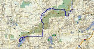 wisconsin scenic drives map a cannonride through the door adventure rider